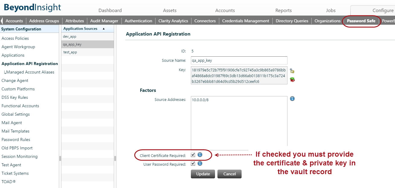 Beyondtrust Client Certificate